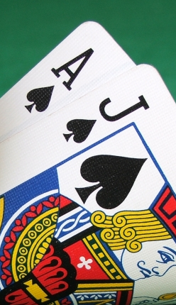 Blackjack spelen mobiel